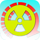 Radioactive decay converter icon