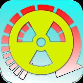 Radioactive decay converter