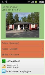 Hätte Camping, Tranås, Sverige- screenshot thumbnail