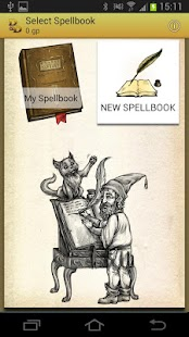 Spellbook - D&D 3.5 - screenshot thumbnail