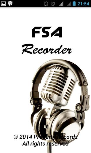 FSA Recorder