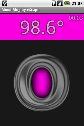 Mood Ring Thermometer- screenshot