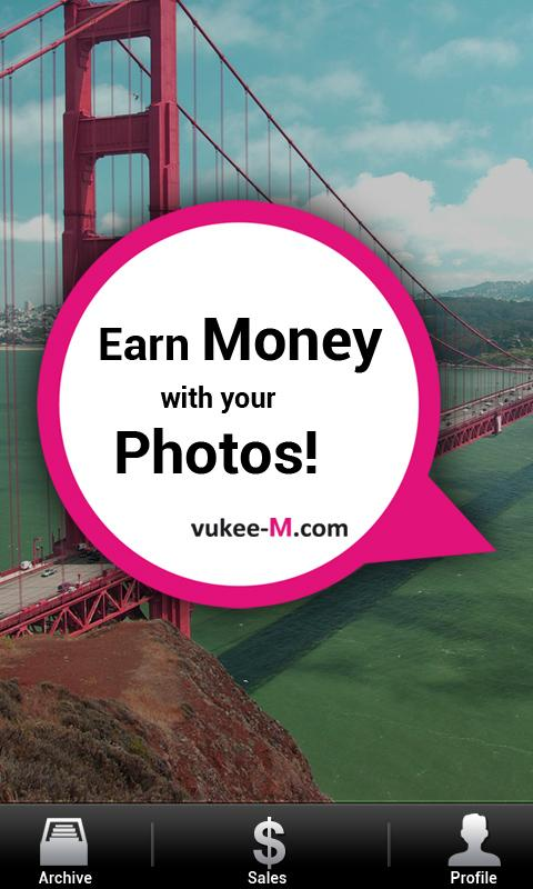 vukee M–Make Money Take Photos - screenshot