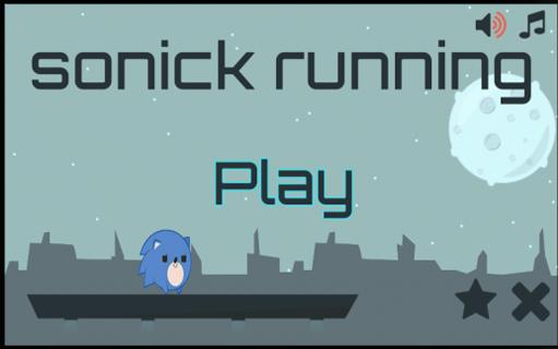 Sonic Running game