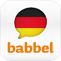 Learn German with babbel.com logo