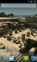 Screenshot of Pyramids 3D. Live wallpaper.