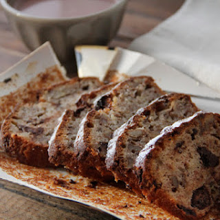 Nuts and Chocolate Banana Bread.