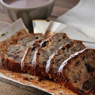 Nuts and Chocolate Banana Bread.