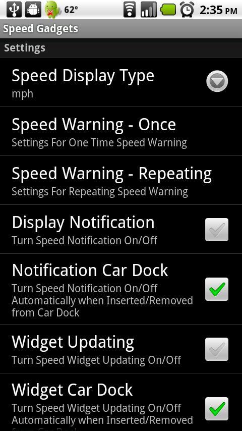 Speed Gadgets- screenshot