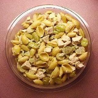 Coronation Chicken Pasta Salad.