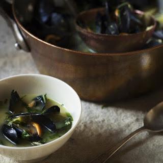 John Besh's Mussel & Swiss Chard Soup