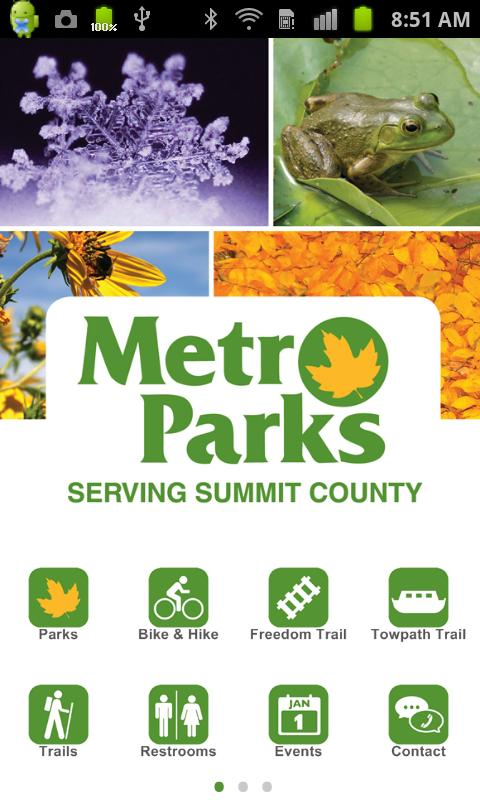 Metro Parks - screenshot