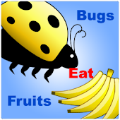 bugs eat fruits