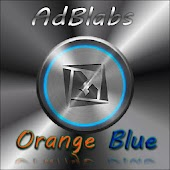 TSF Shell Theme Orange Blue HD
