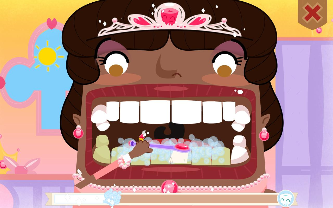 Toothsavers Brushing Game - screenshot