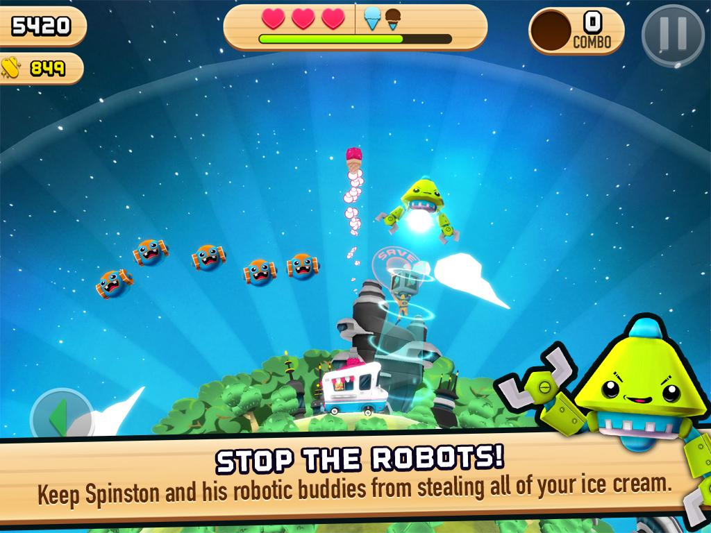 Robots Love Ice Cream- screenshot
