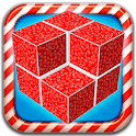 Minus Cube 3D puzzle game free icon