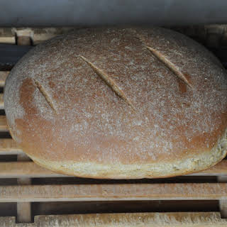 Ricotta Whey and Barley Bread.