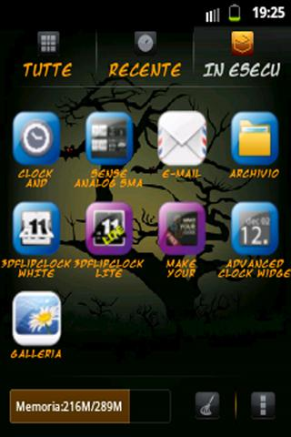 Halloween Theme 'Phone - screenshot