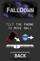 Screenshot of FallDown