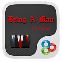 Being A Man GO Launcher Theme icon