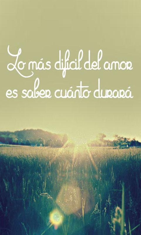 Beautiful Love Quotes For Her In Spanish : Frases de amor - Android Apps on Google Play