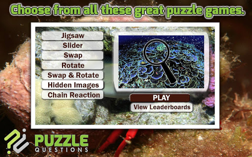 Under the Sea Puzzle Games 2