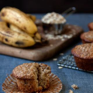 Banana-Oatmeal Muffins.