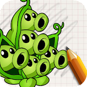 Free Art Drawings: Plant and Zombie APK for Windows 8