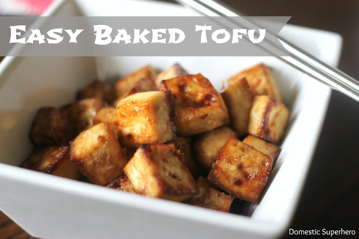 Easy Baked Tofu Recipe