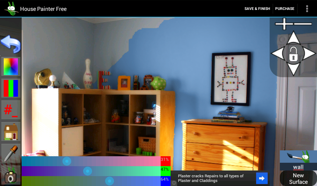 House Painter Free Demo- screenshot