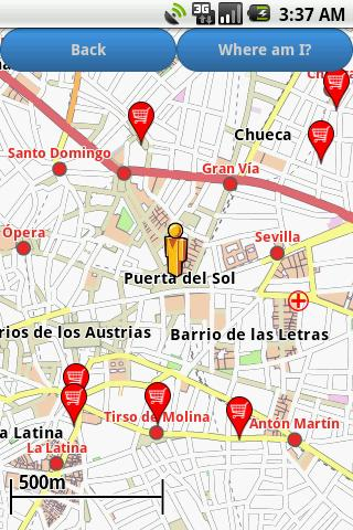 Madrid Amenities Map free