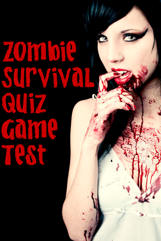 Zombie Survival Quiz Game Test - screenshot