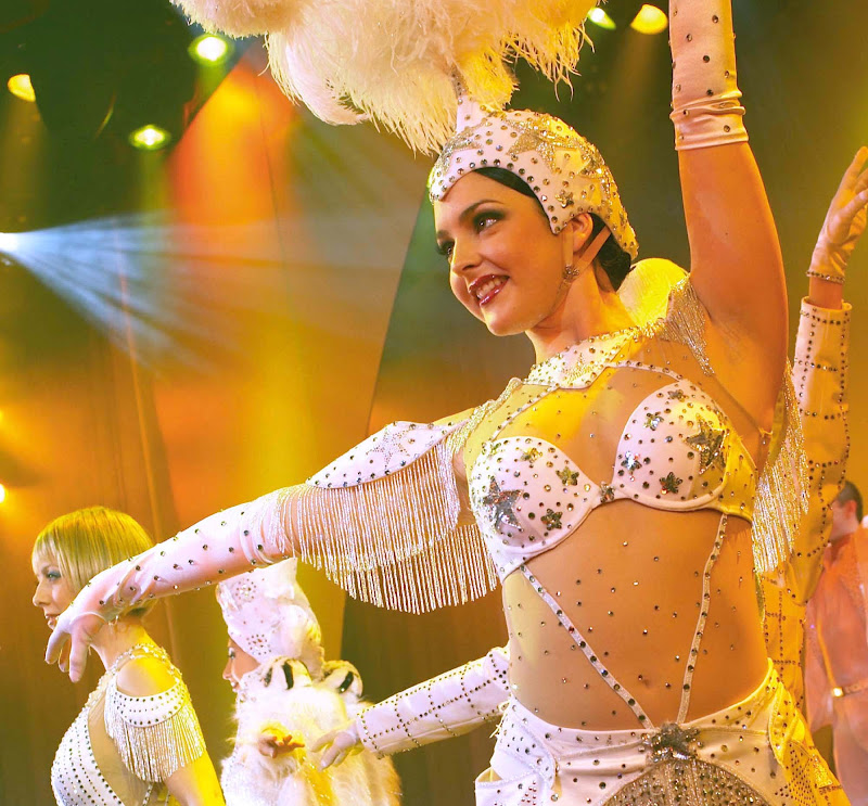 Princess Cruises offers several sources of live entertainment, such as its renowned production shows.