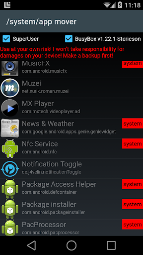 system app mover ★ ROOT ★