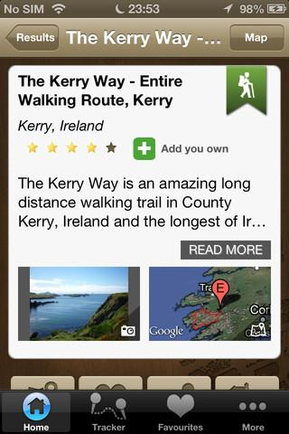 ActiveME Ireland Travel Guide - screenshot