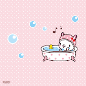 CUKI Theme rabbitdogWallpaper