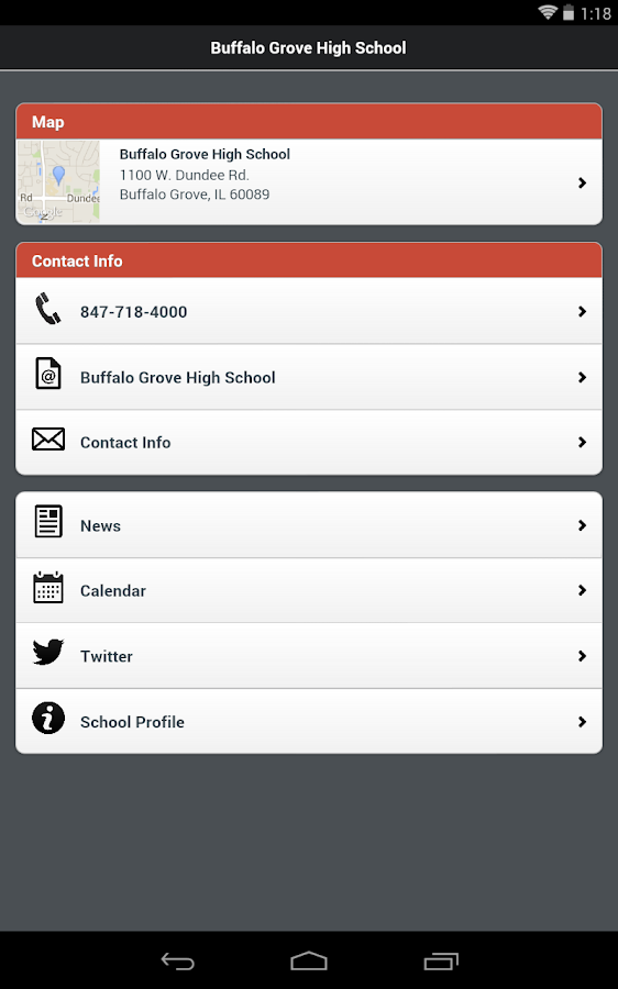 High School District 214- screenshot