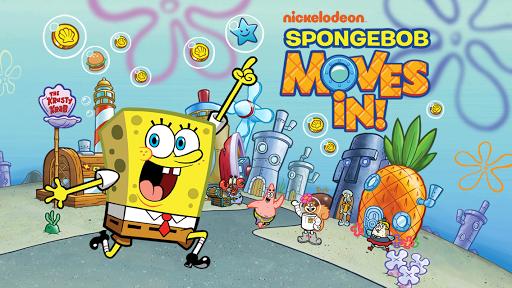 ���� SpongeBob Moves In v4.24.00 [Mod Money] ������� ���������