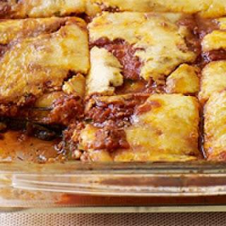 Weight Watchers No-Noodle Vegetable Lasagna.