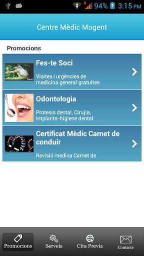 Centre Medic Mogent mobile