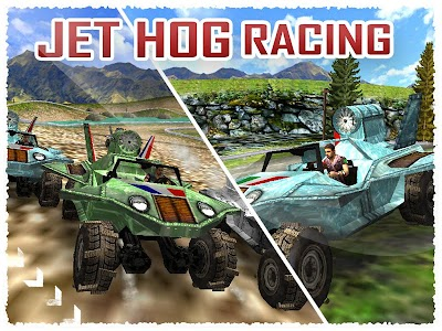 Jet Hog Racing ( 3D Game ) v1.0