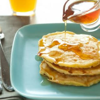 Fluffy Cottage Cheese Pancakes.