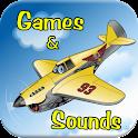 Airplane Soundboard & Games icon