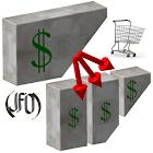 Price per unit Comparison icon