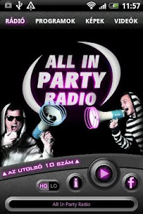 All In PartyRadio - screenshot thumbnail