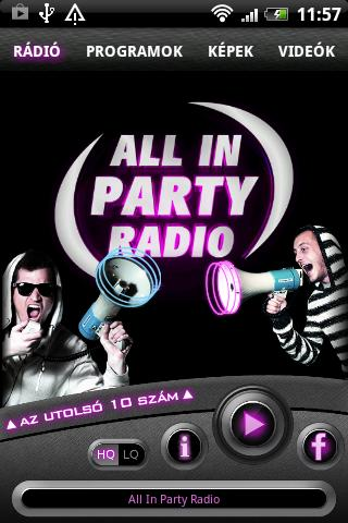 All In PartyRadio - screenshot