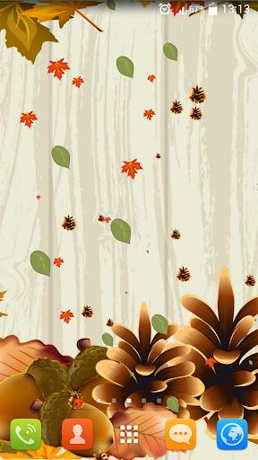 秋のライブ壁紙