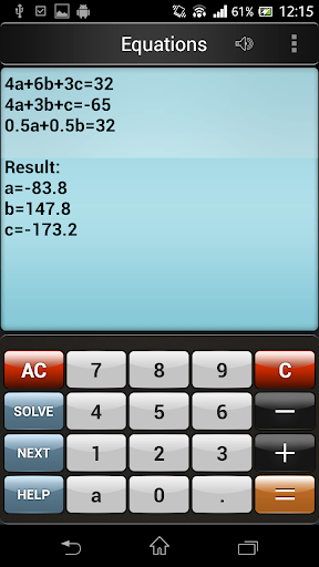 Web 2.0 scientific calculator