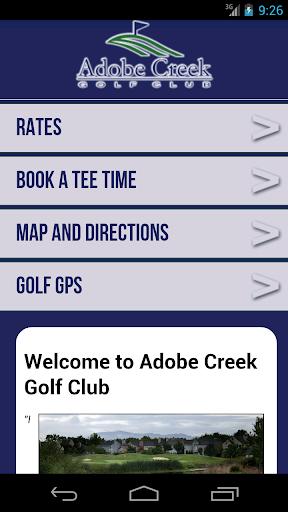 Adobe Creek Golf